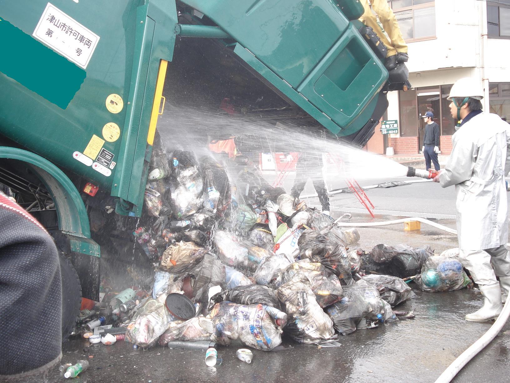 収集 車 ゴミ