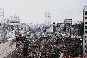 今の東京駅にあった津山松平藩江...